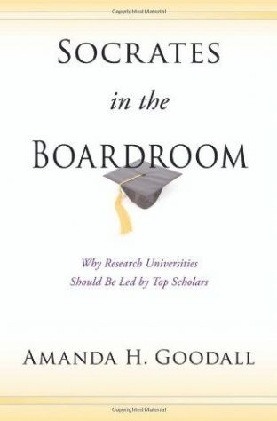 Socrates in the Boardroom by Amanda H. Goodall - 9780691138008
